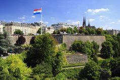 Corniche am Boulevard Roosevelt in Luxemburg Stadt, Großherzogtum Luxemburg